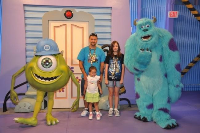 Monsters Inc. Meet & Greet