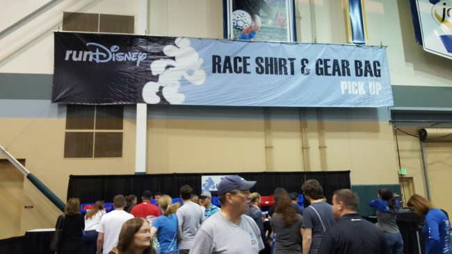 Race Shirt Pick-Up for WDW Marathon
