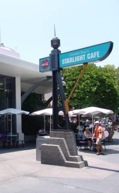 Cosmic Ray's Starlight Cafe-Image courtesy of Disney