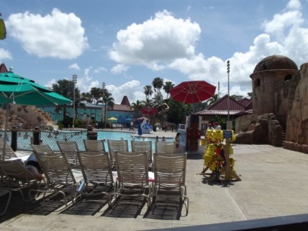 Disney's Caribbean Beach Resort Life Vests / Jackets- Photo Credit Lisa McBride