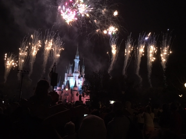 Wishes from the reserved FastPass+ area
