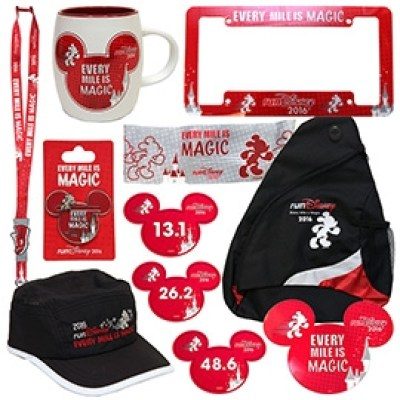 runDisney Merchandise -Photo Credit Disney Parks Blog