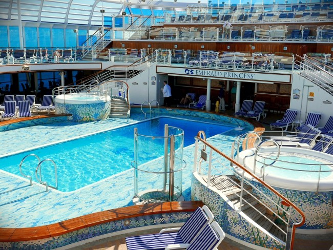Emerald Princess Pool 1