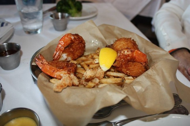 Boathouse coconut shrimp
