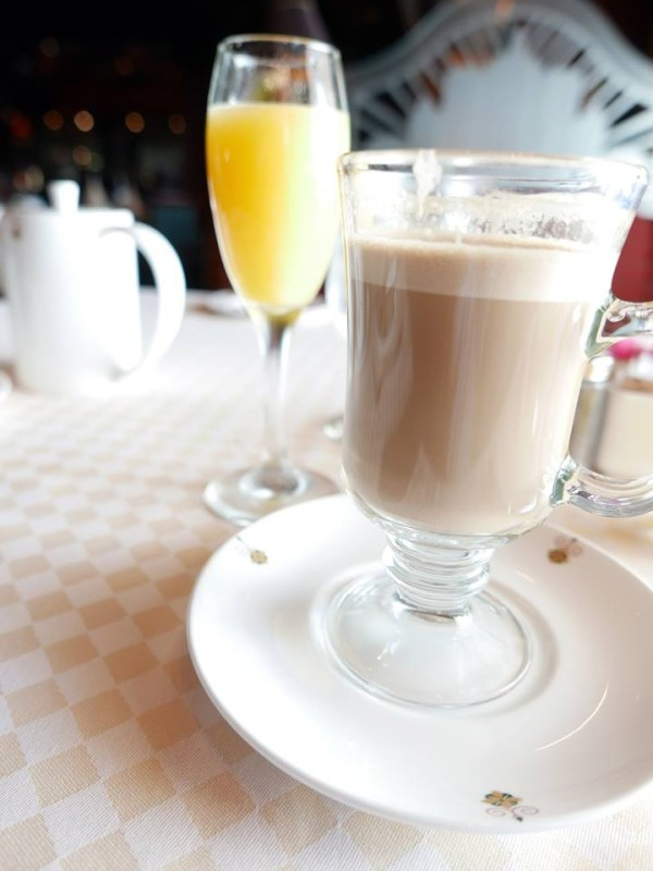 Emerald Princess Suite Passenger Breakfast Complimentary Mimosa & Mocha Latte