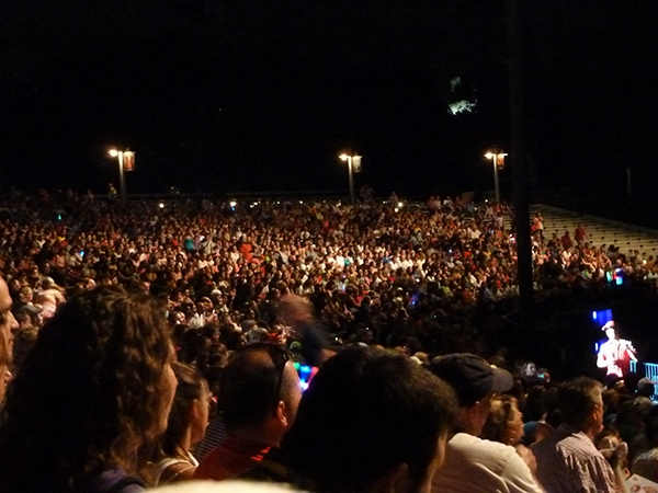 Fantasmic! amphitheater