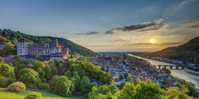 Visit the Heidelberg Castle (photo courtesy of Disney)