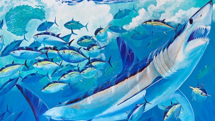 Guy Harvey Mako - courtesy of SeaWorld