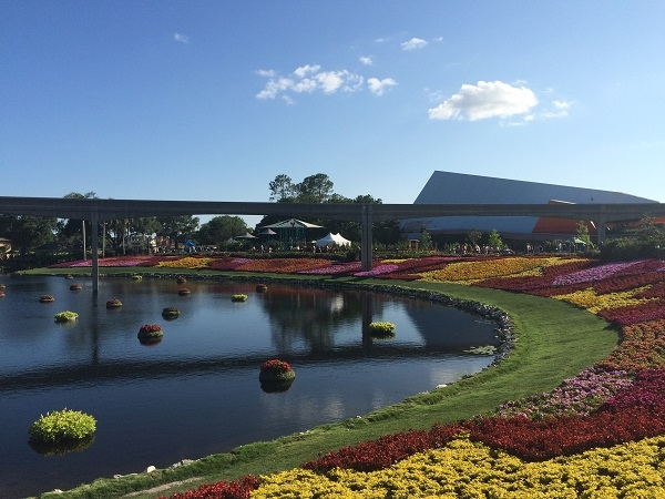 Gardens at Epcot's International Flower and Garden Festival