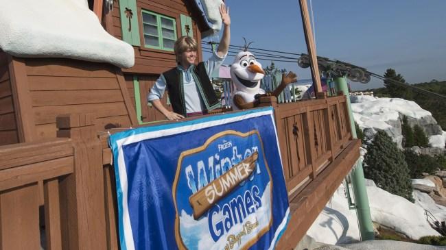 Frozen Games at Disney's Blizzard Beach-Photo Credit Disney