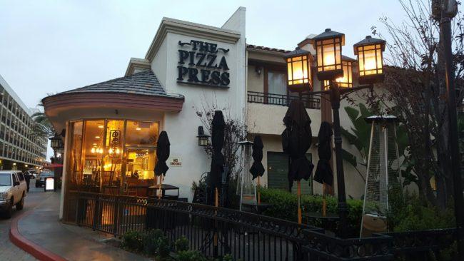 The Pizza Press 1534 S. Harbor Blvd, Anaheim, CA