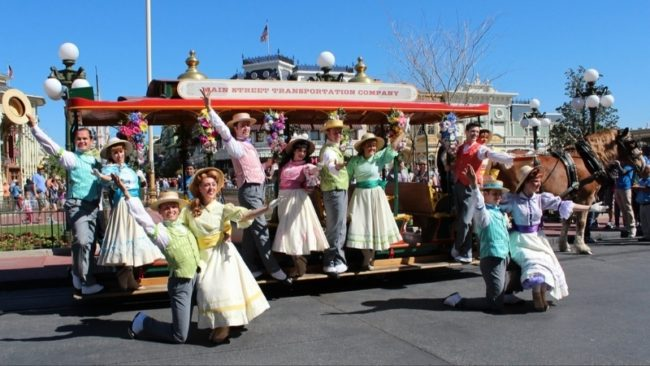 Middle of Main St. USA- Photo Credit Disney