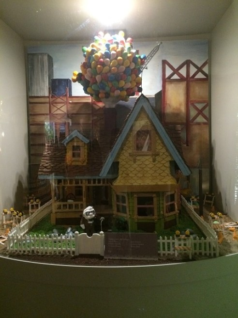 House from 'UP' crafted out of chocolate