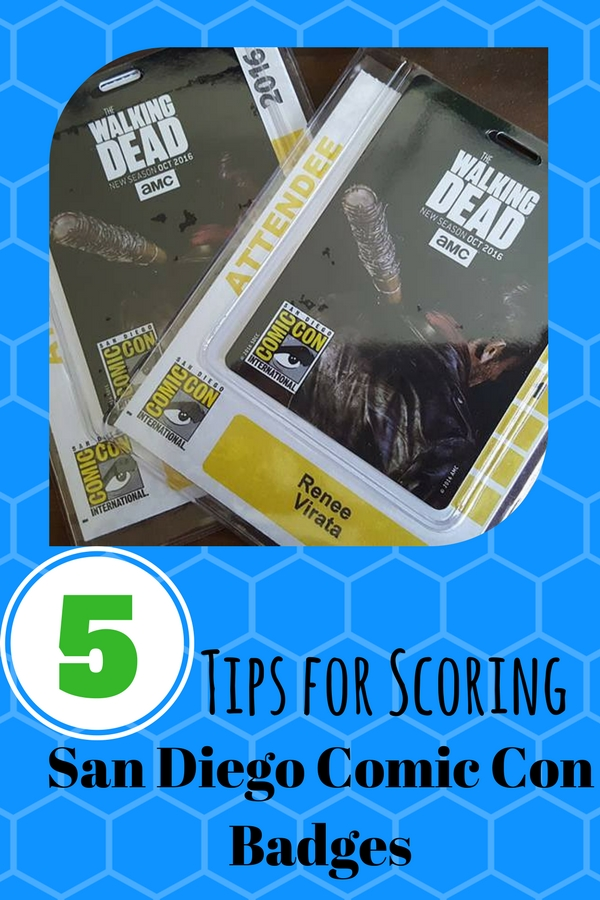 Insider tips on how to score tickets to San Diego Comic Con.