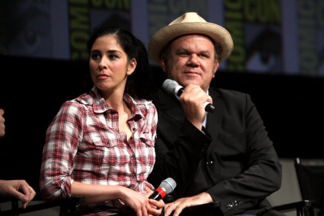 Sarah Silverman and John C. Reilly - 2012 San Diego Comic-Con