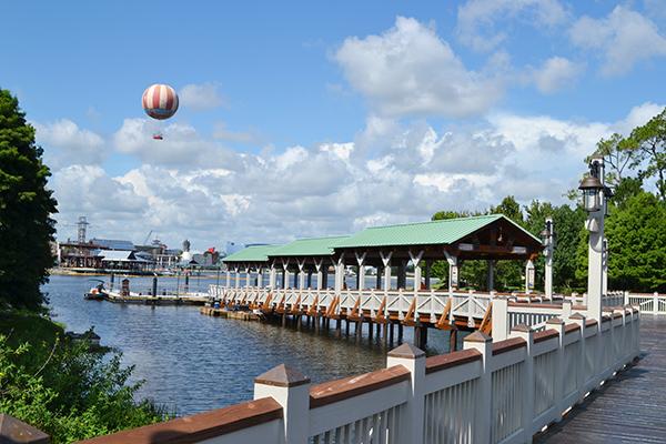 Marketplace Boat Dock - Image by Disney