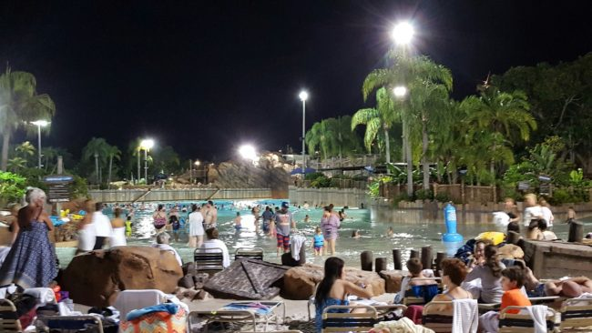 Typhoon Lagoon Surf Pool at the DVC Neighborhood Beach Bash