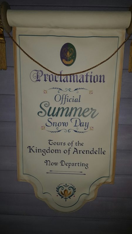 Frozen Ever After - Summer Snow Day Invite
