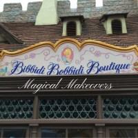 Magical Makeovers at the Bibbidi Bobiddi Boutique!