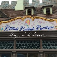 Magical Makeovers at the Bibbidi Bobiddi Boutique!