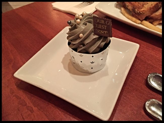 The Master's Cupcake Be Our Guest Restaurant-Photo Credit Lisa McBride
