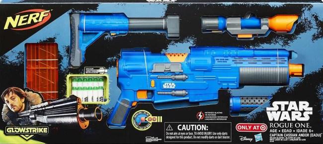 "Hasbro/Nerf ""Rogue One: A Star Wars Story"" merchandise/blaster. Photo by Hasbro"