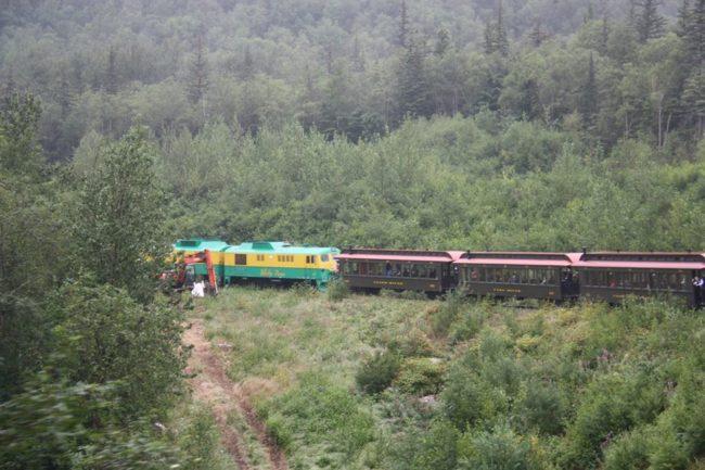 White Pass Railway Train, Alaska - Photo by Lisa Sealey