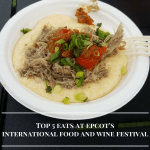 Top 5 eats at Epcot's International Food andWine Festival