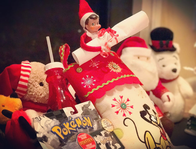 Disney-obsessed-elf-on-the-shelf