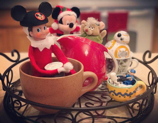 Disney-obsessed-elf-on-the-shelf-mad-tea-party