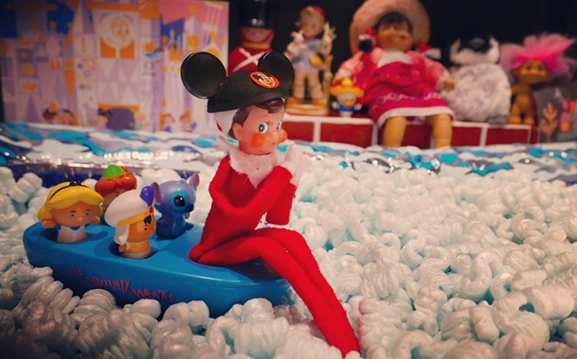 Disney-obsessed-elf-on-the-shelf-its-a-small-world
