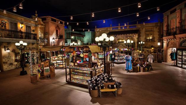 Plaza de los Amigos-Photo Credit Disney