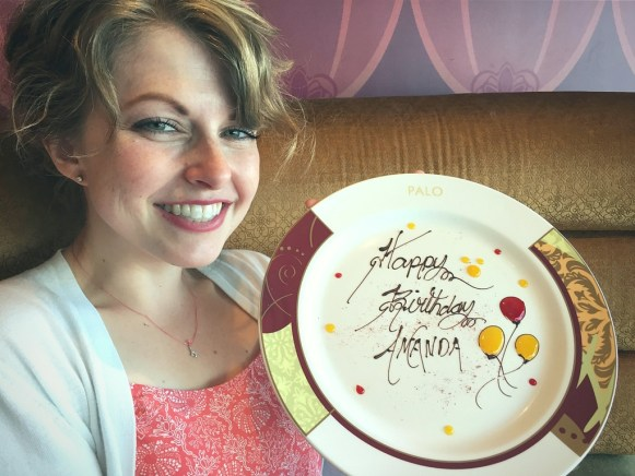 Celebrate on a Disney Cruise Palo Brunch Birthday Surprise