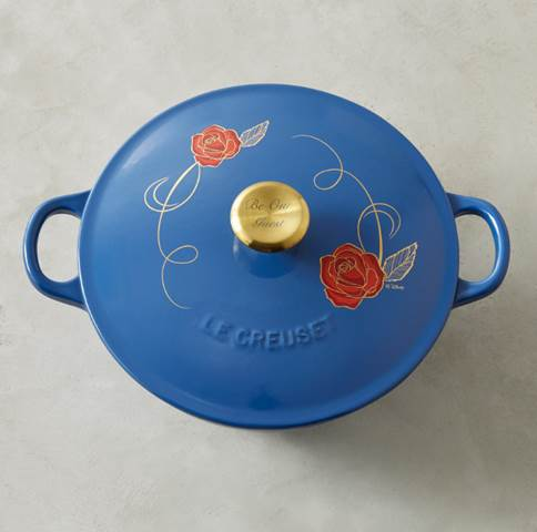 Williams Sonoma Beauty and the Beast soup pot.