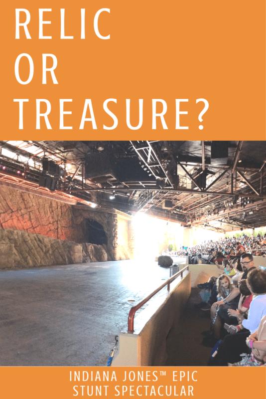 Indiana Jones™ Epic Stunt Spectacular!: Relic or Treasure