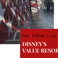 The Bottom Line on Disney's Value Resorts