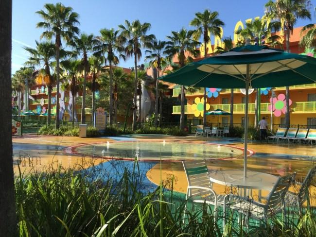 Swimming pool at Disney's Pop Century Resort-Photo Credit Lisa McBride