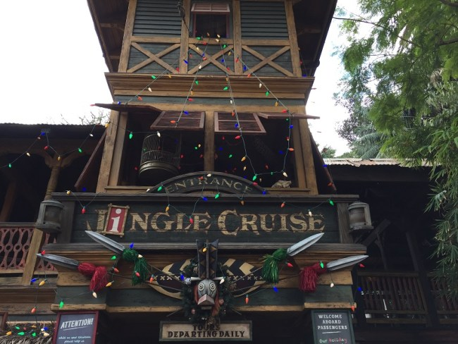 Jingle Cruise Disneyland attractions for toddlers