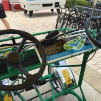 Pedaling Around the World: Disney Bike Rentals!