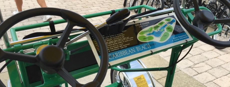 Pedaling Around the World: Disney Bike Rentals!