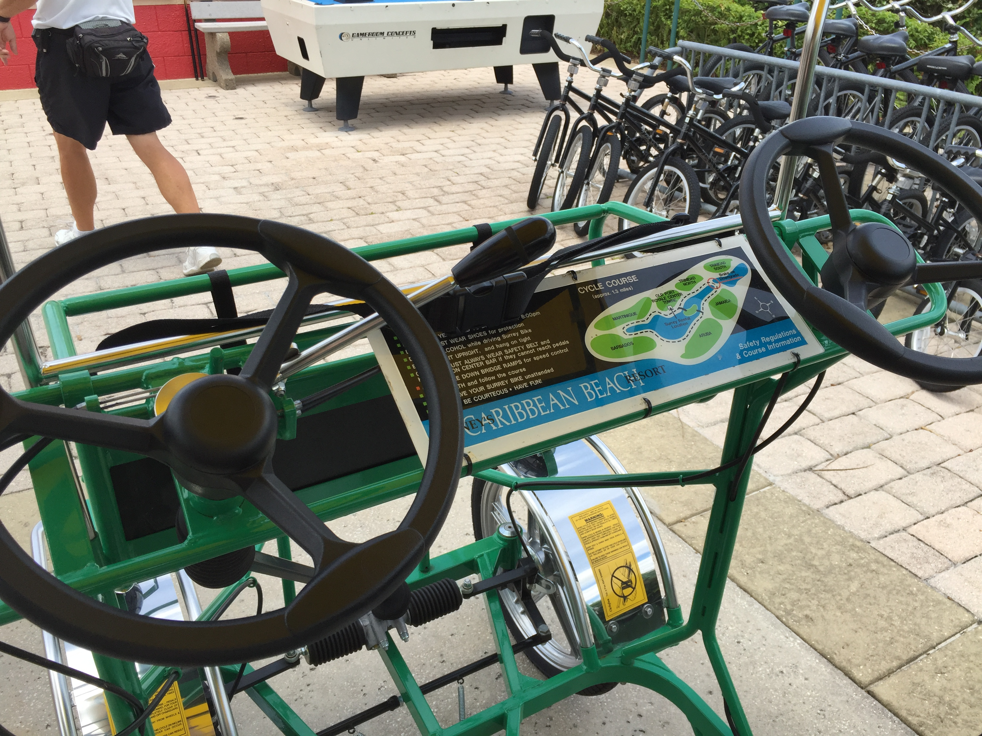 Pedaling Around The World Disney Bike Rentals Magical Distractions