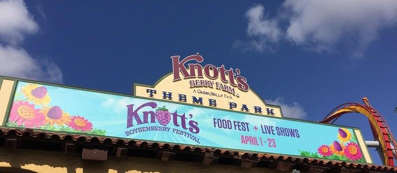 A Sweet Celebration at the Knott's Berry Farm Boysenberry Festival
