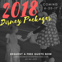 2018 Disney World Packages Coming Next Week