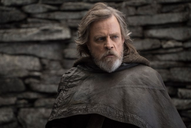 Luke Skywalker plays a major roll in The Last Jedi.
