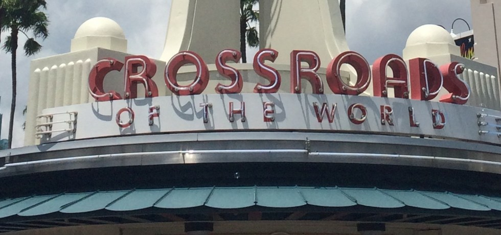 Disney World, Hollywood Studios, Crossroads of the World