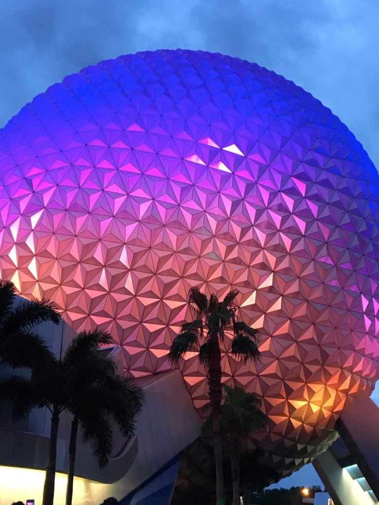 Epcot, Spaceship Earth, V.I.Passholders Nights