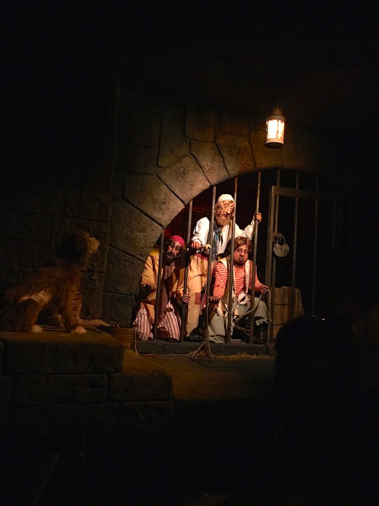 Disney World, Magic Kingdom, Pirates of the Caribbean