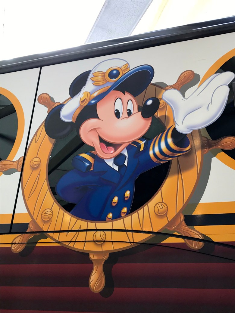 Disney Cruise Line Mickey