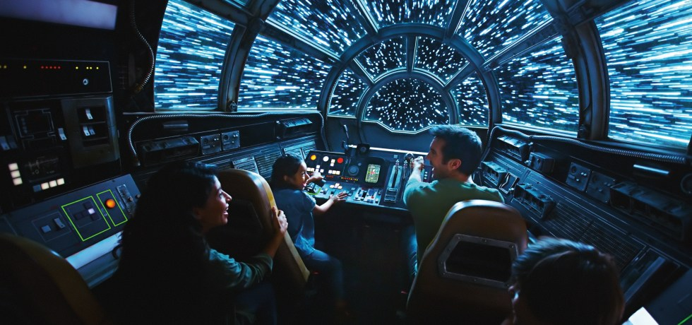 Photo of Millennium Falcon: Smugglers Run at Star Wars: Galaxy's Edge