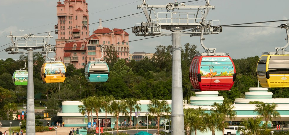 Photo of the Disney Skyliner